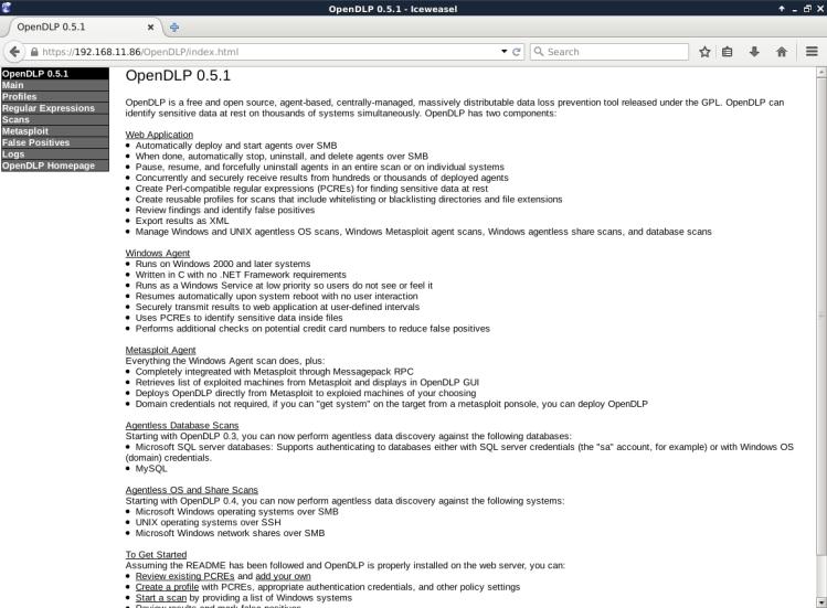 Iceweasel-OpenDLP-17